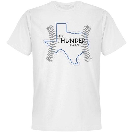 texas thunder on white