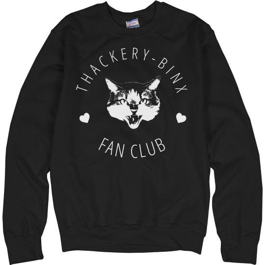 Thackery Binx Fan Club Sweatshirt