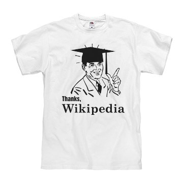 Thanks, Wikipedia