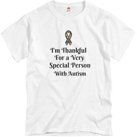Thanksgiving Autism