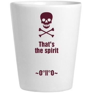 That's the Spirit ceramic glass