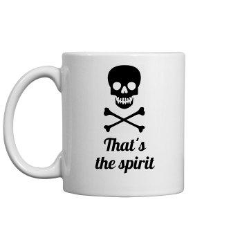 That's the Spirit ceramic mug