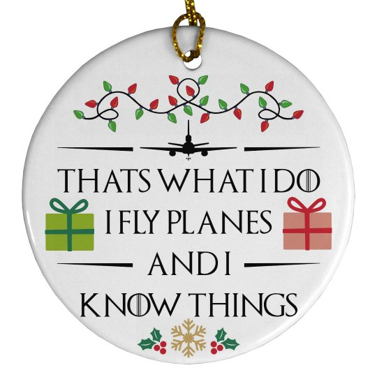 That's what I do Ornament