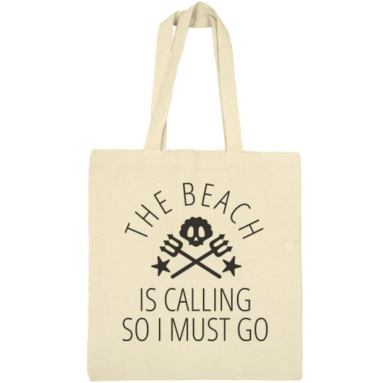 The Beach Is Calling Trendy Beach Bag