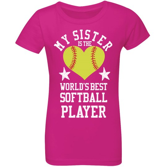 The Best Softball Sister Ever