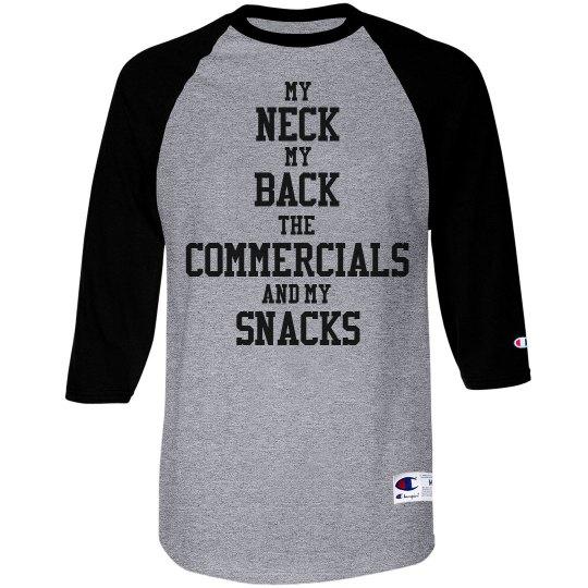 The Big Game Funny Football Girl Shirt
