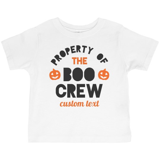 The Boo Crew Matching Family Tees