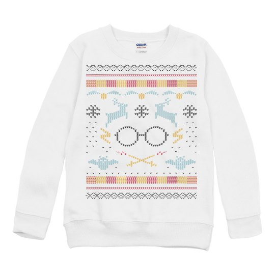 The Boy That Lived Kids Ugly Sweater
