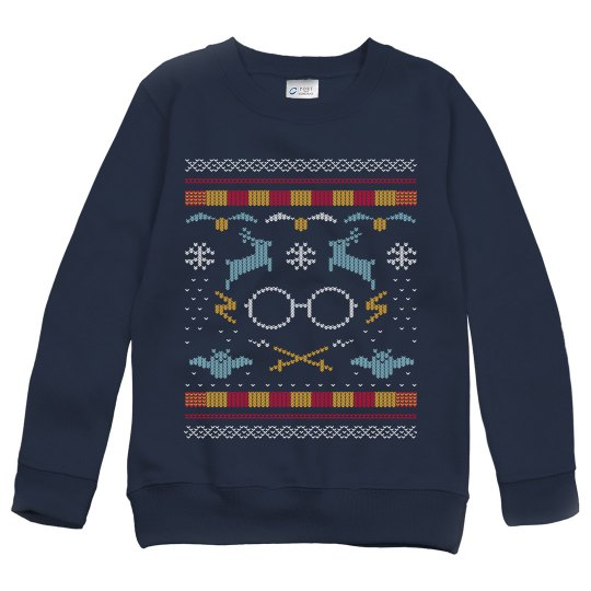 The Boy that Lived Magic Ugly Sweater