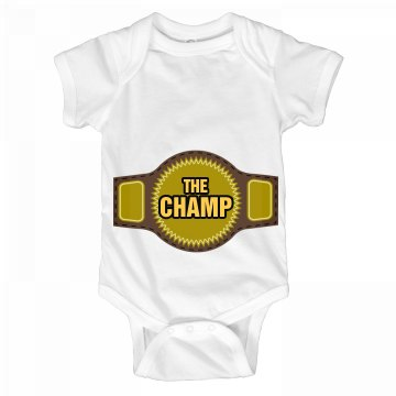 The Champ Infant Onesie