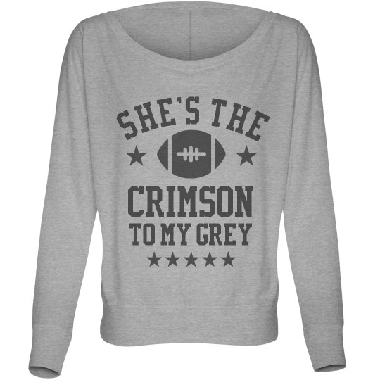 The CrimsonTo My Grey BFF's