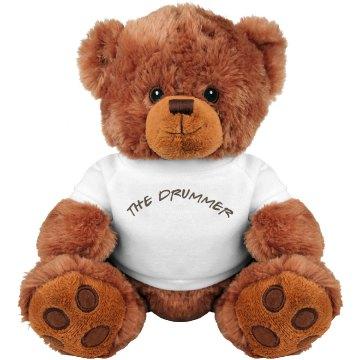 THE DRUMMER TEDDY BEAR
