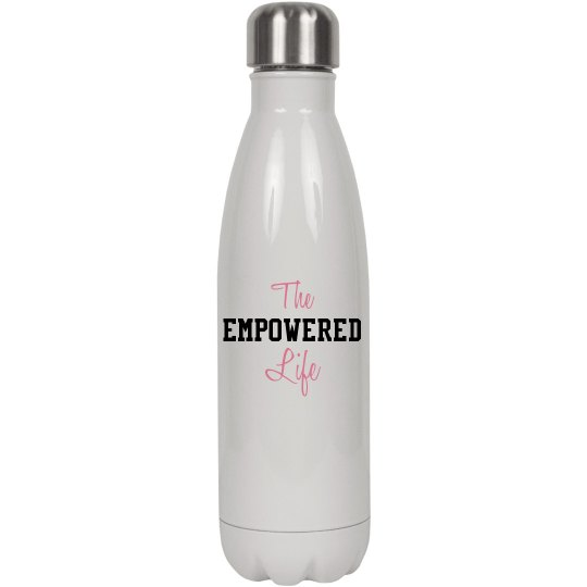 The Empowered Life Stainless Steel bottle