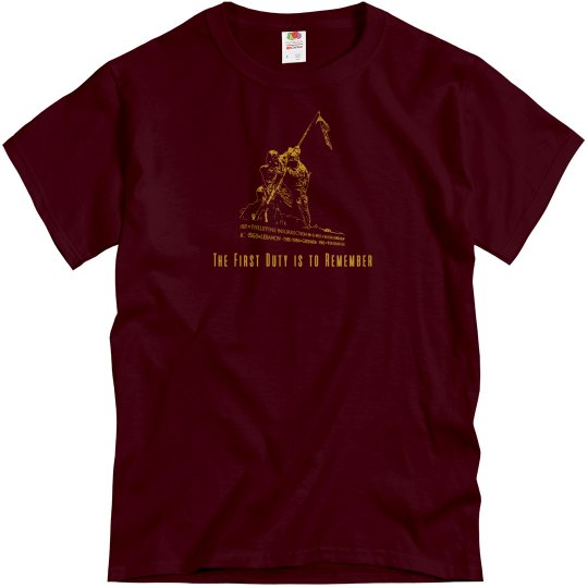 The First Duty is to Remember HMM-162 Veteran T-shirt