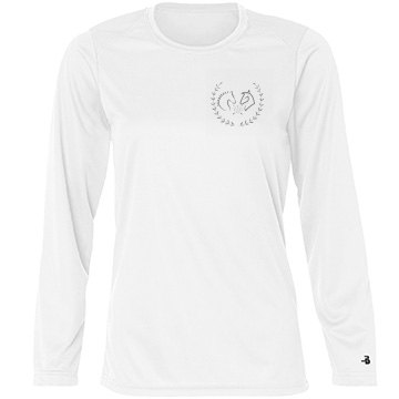 The Gallop To Greatness Logo Tee Long Sleeve