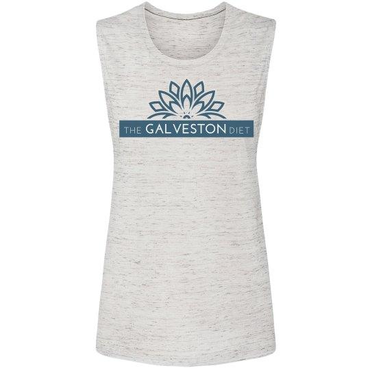 The Galveston Diet Muscle Tank - Heather