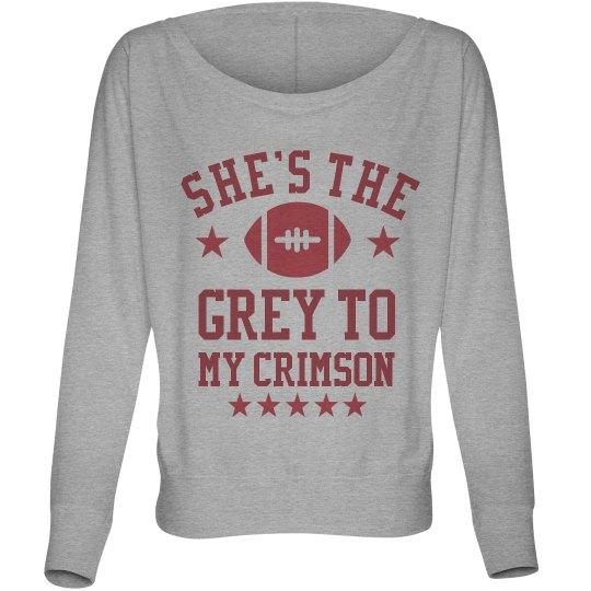 The Grey To My Crimson BFF's