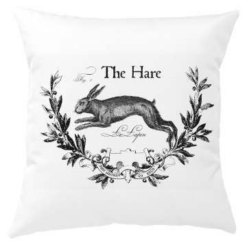 The Hare Easter Pillow Cover