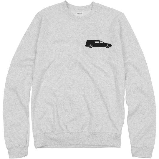 The Hearse Sweatshirt no lyrics