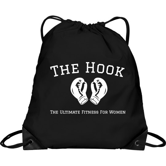 The Hook String bag in black