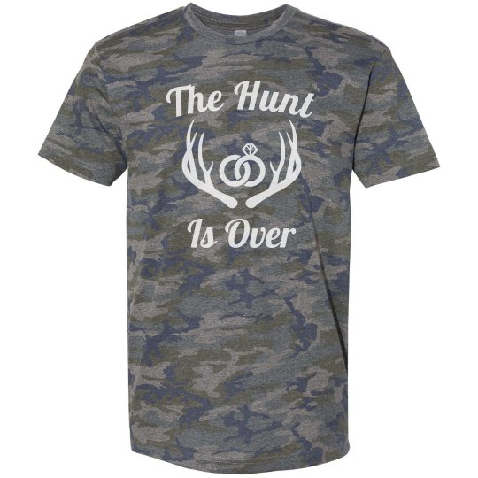 The Hunt Is Over Mens Camo