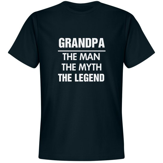 The Legend Of Grandpa T-Shirt
