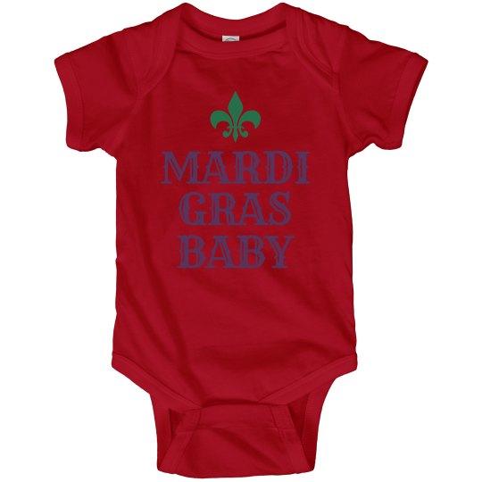 The Mardi Gras Baby