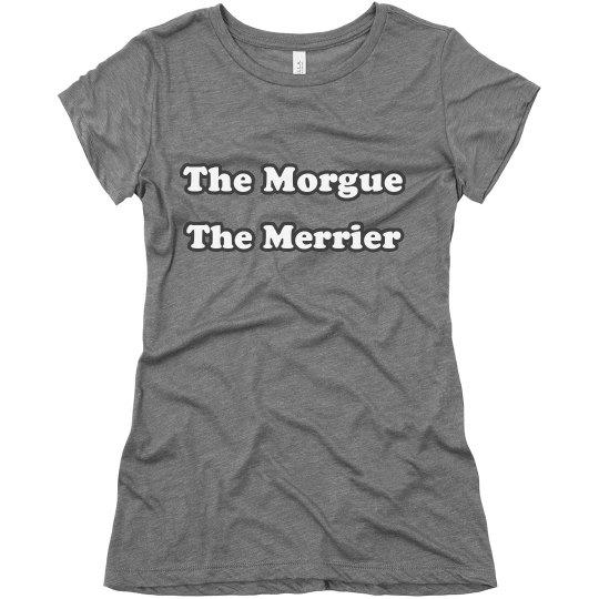 The morgue soft tee