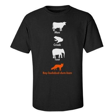 The Orange Fox Say