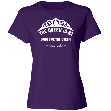 The queen is 82 birthday  shirt