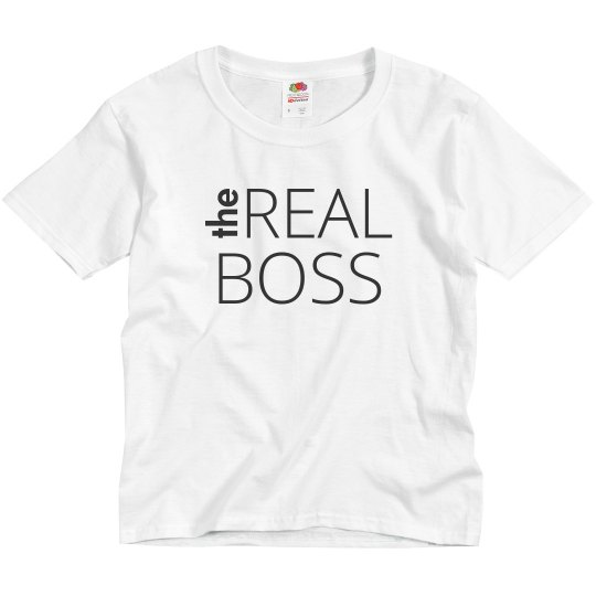 The Real Daughter Boss Matching Tee