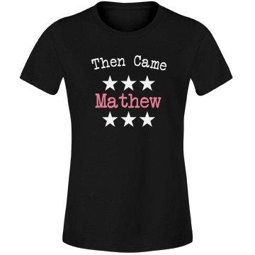 Then came mathew