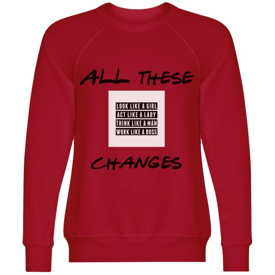 TheOutboundLiving All these Changes sweater