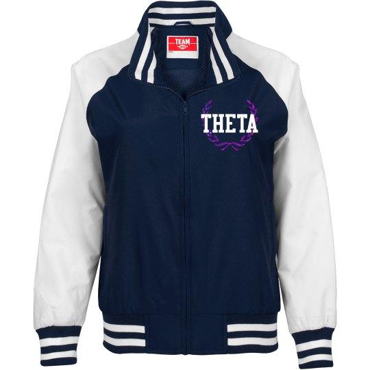 Theta black jacket
