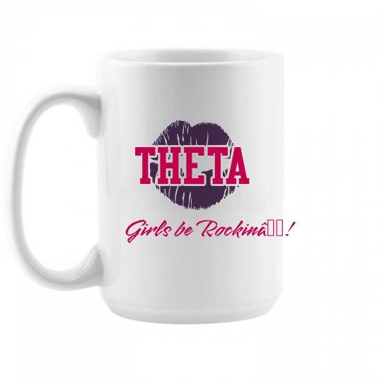 Theta girls mug