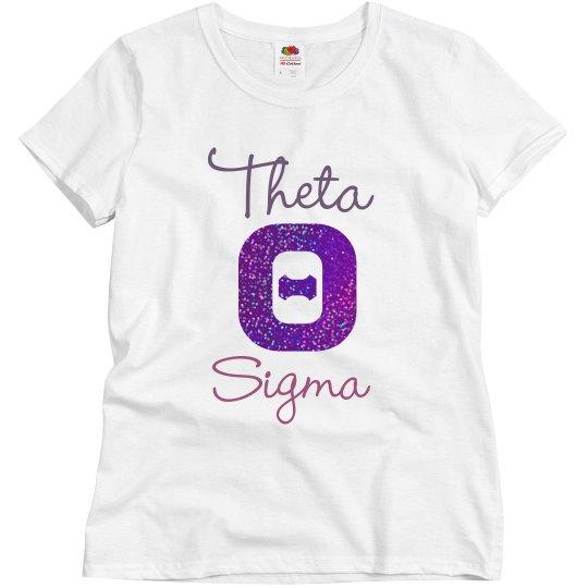 Theta Glitter shirt