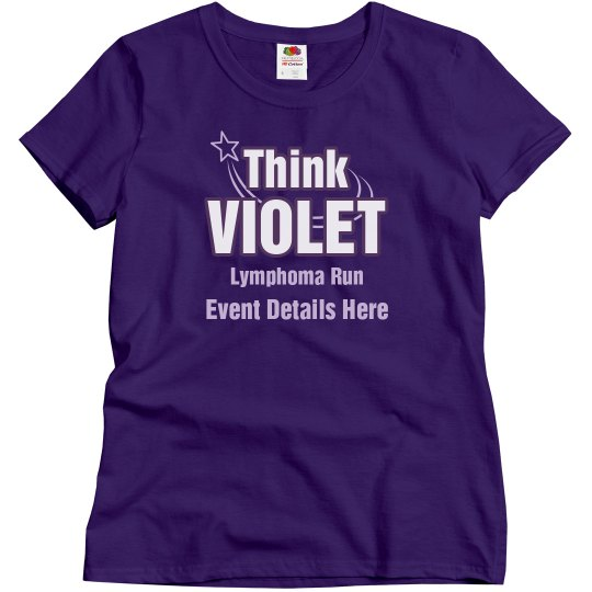 Think Violet Lymphoma Run