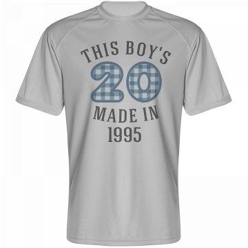 This boy's 20