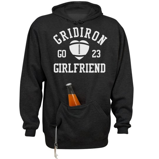 This Football Girlfriend Loves Tailgating Hoodie