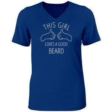 this girl loves a good beard