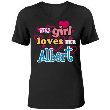 This girl loves Albert!