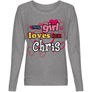 This girl loves Chris!