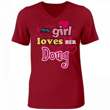 This girl loves Doug!