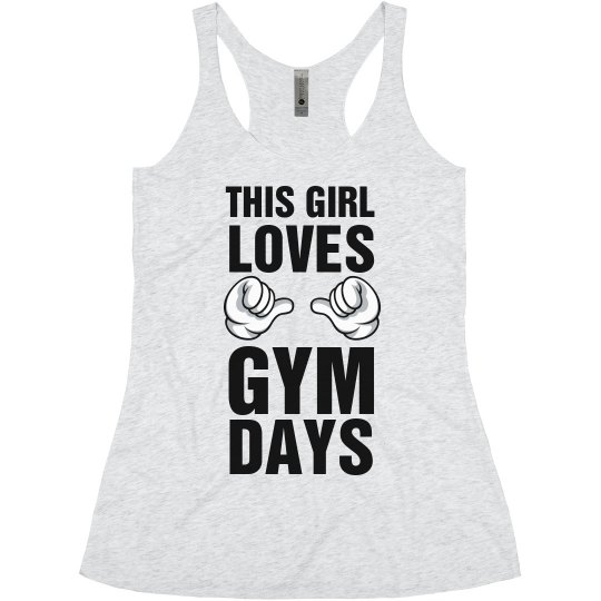 This Girl Loves Gym Days Tank