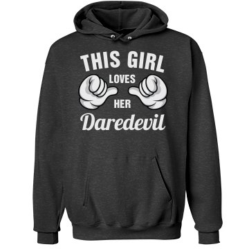 This girl loves her Daredevil