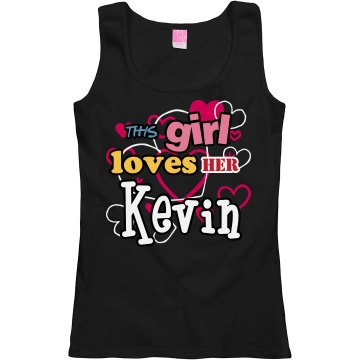 This girl loves Kevin!