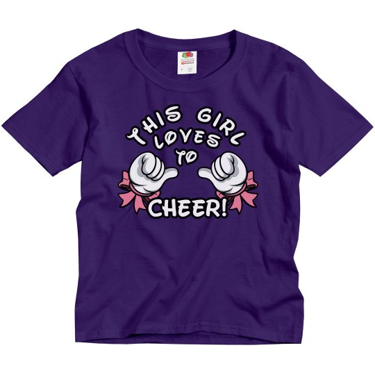 This Girl Loves To Cheer