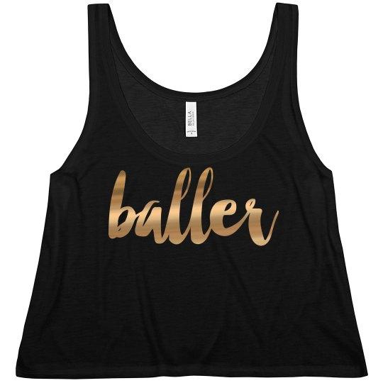 This Girl's A Baller