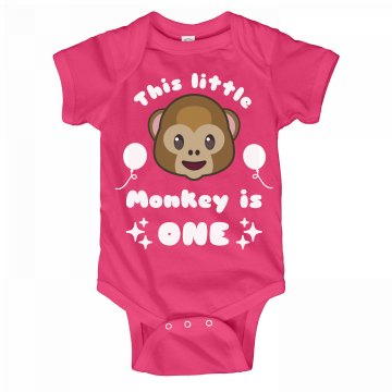This Little Monkey Is 1