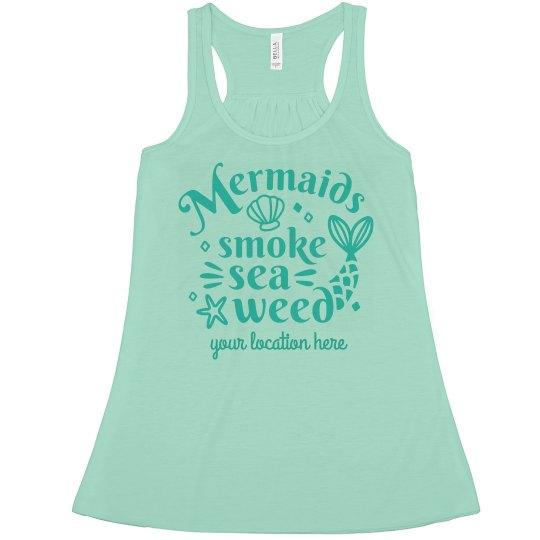 This Mermaid Smokes Seaweed